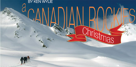 a Canadian Rockies Christmas
