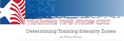 CXC Training Tips: Determining Training Intensity Zones