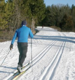 Nearly 90 miles of non-stop cross country skiing and a case study in multiple use
