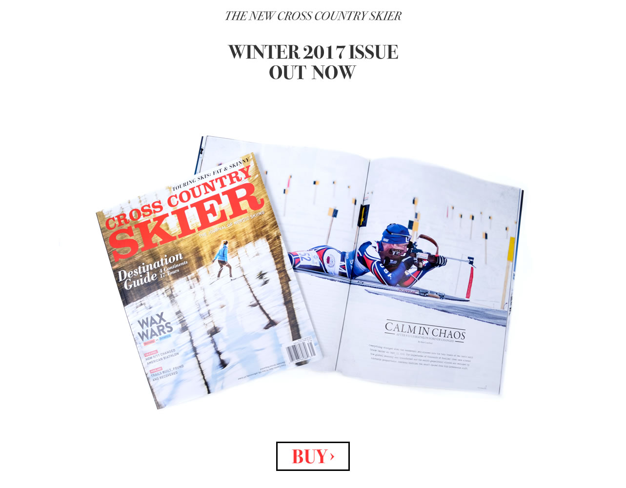 Cross Country Skier Magazine Winter 2017