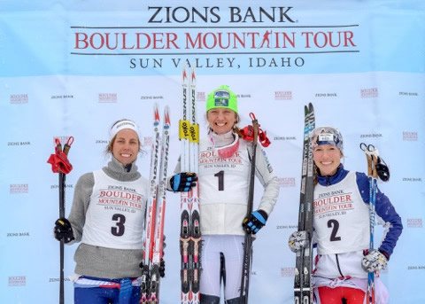 BMT podium! From left: Mary Rose, Caitlin Gregg, me. [Photo] Nils Ribi