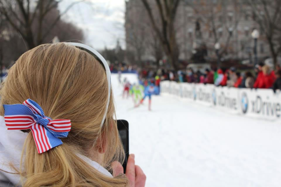 5 years ago…watching my first World Cups. [Photo] Brooke Mooney