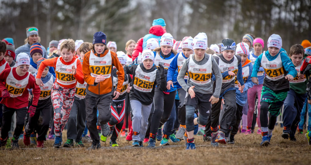 And they're off!. [Photo] Courtesy of ©American Birkebeiner Ski Foundation
