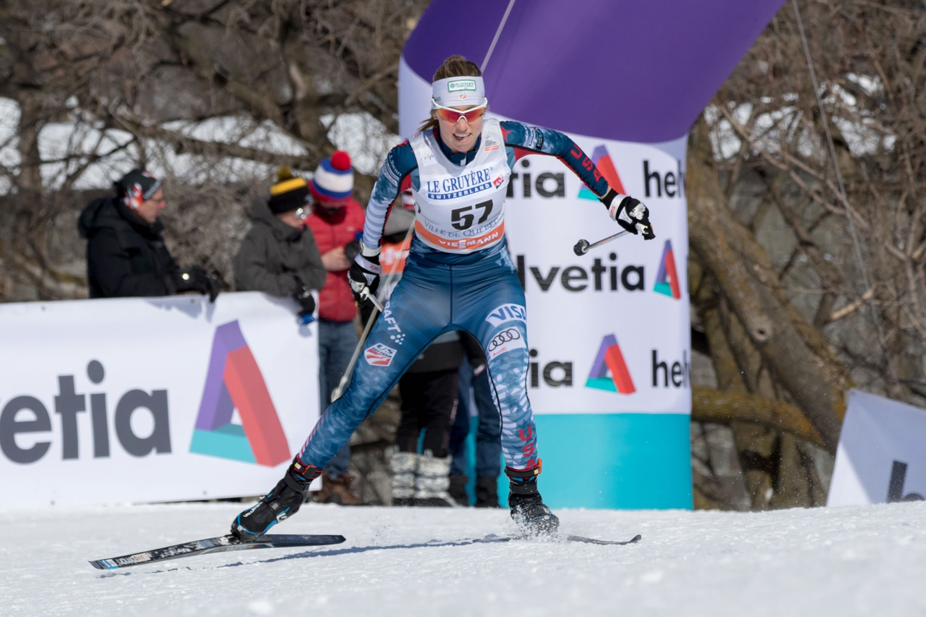 My very first World Cup start. [Photo] Gretchen Powers